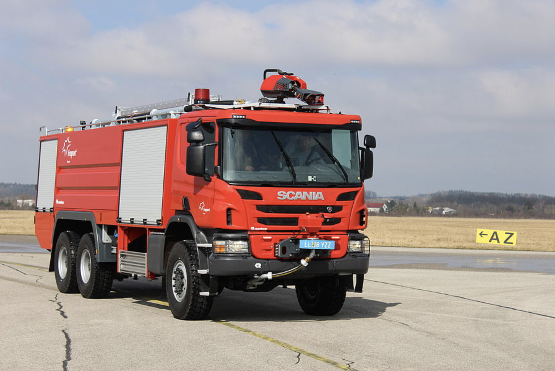 Scania Buffalo Rosenbauer
